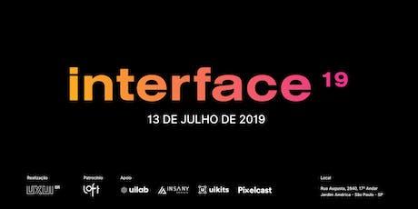 Interface 19 ingressos
