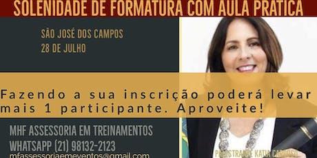 Solenidade de Formatura com Aula Pratica - São José dos Campos ingressos