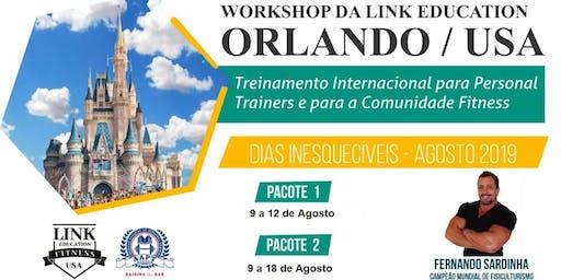 TREINAMENTO INTERNACIONAL P/ PERSONAL TRAINERS E PARA A COMUNIDADE FITNESS