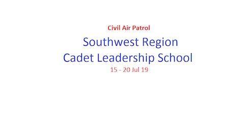2019 Southwest Region Cadet Leadership School tickets