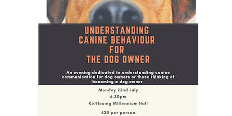 Understanding canine behaviour for the dog owner tickets