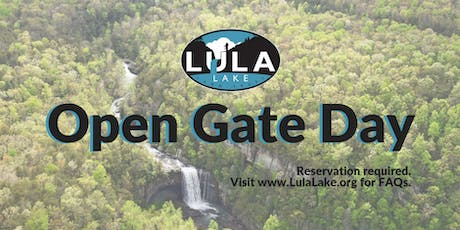 Open Gate Day - Saturday, August 3, 2019 tickets