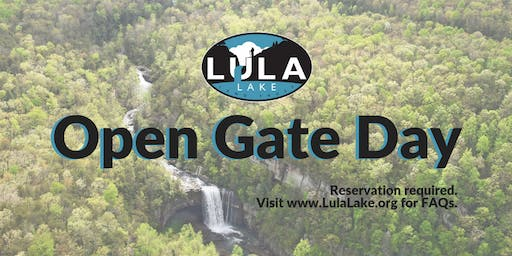 Open Gate Day - Saturday, August 3, 2019