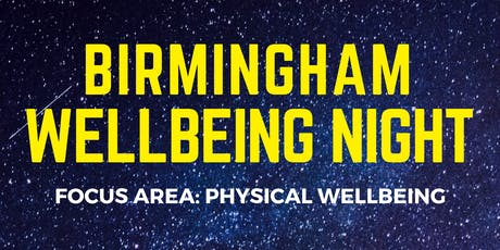 Bham Wellbeing Night tickets
