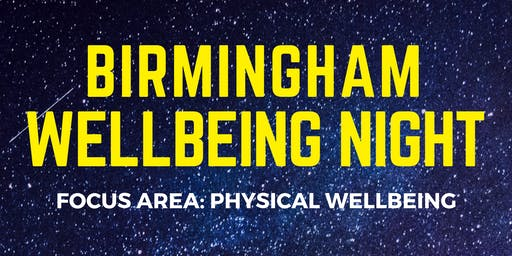 Bham Wellbeing Night