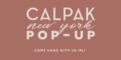CALPAK Pop-Up Shop