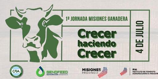 """1º Jornada Misiones Ganadera """"Crecer haciendo Crecer"""""""