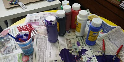 Glass Painting - a beginner's session (Thornton)