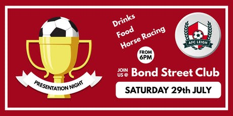 AFC Leigh Presentation + Racehorse Night tickets