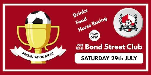 AFC Leigh Presentation + Racehorse Night