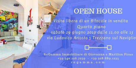 Open House / Visita Libera Bilocale via Ariosto 5 Trezzano sul Naviglio biglietti