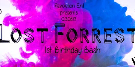 Lost Forrest 1st Birthday Bash Pre Sale Tickets tickets