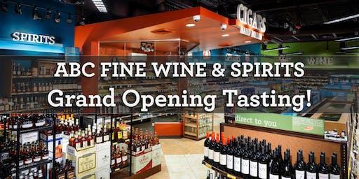 Trinity Grand Opening Wine Tasting