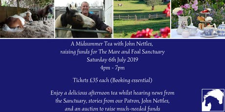 Midsummer Tea with John Nettles tickets