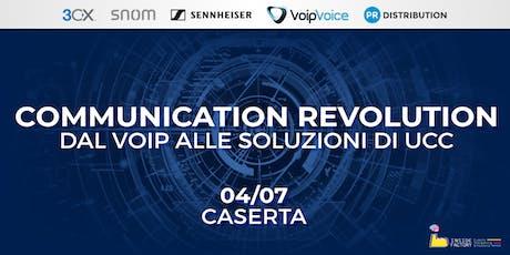 Communication Revolution: dal VoIP alle soluzioni di UCC - Caserta biglietti