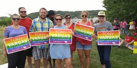 March with Senator Vargas at Heartland Pride! tickets