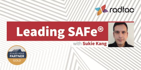 Leading SAFe® with SA Certification bilhetes
