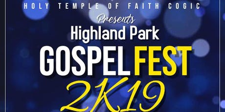 Highland Park Gospel Fest tickets