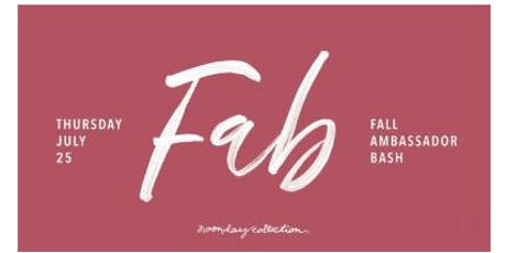 Noonday FAB tickets