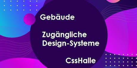 Gebäude zugängliche Design-Systeme Tickets