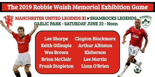 The 2019 Robbie Walsh Memorial Exhibition Game