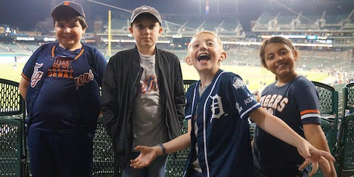 Scout Day at the Detroit Tigers with Pack 729