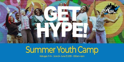 Get HYPE! Summer Youth Camp