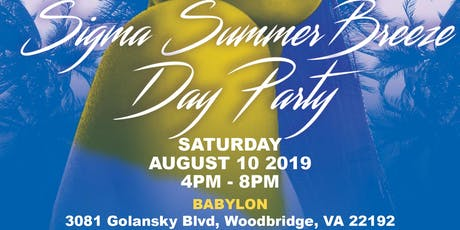 2019 IES Sigma Summer Breeze Day Party tickets
