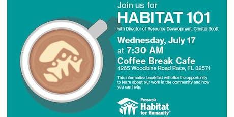 Habitat 101: Breakfast with Crystal tickets
