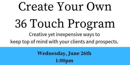 36 Touch Program