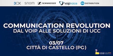 Communication Revolution: dal VoIP alle soluzioni di UCC - Città di Castello biglietti