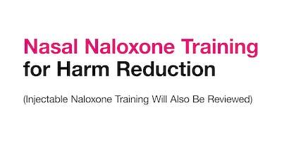 Naloxone Training for Harm Reduction