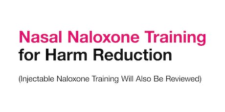 Naloxone Training for Harm Reduction tickets