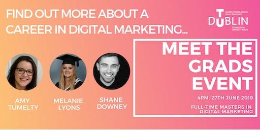 Meet the Grads Event-  TU Dublin Masters in Digital Marketing