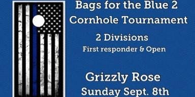 Bags for the Blue 2 cornhole tournament