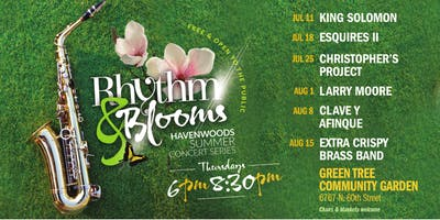Rhythm & Blooms Free Summer Concert