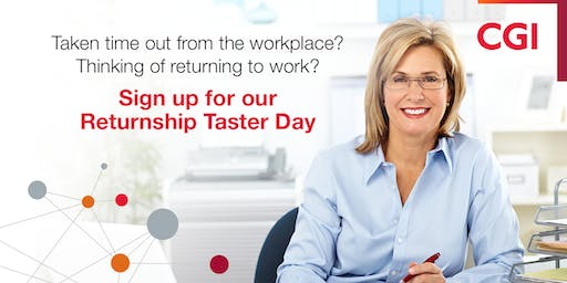 IT Career Returners - CGI Leatherhead's Taster Sessions