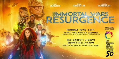 The Immortal Wars: Resurgence Premiere - Los Angeles tickets