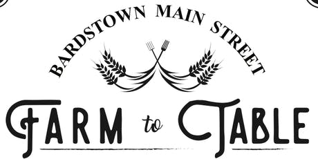 Farm to Table Dinner in Downtown Bardstown tickets