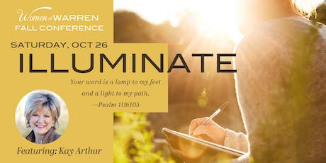 Illuminate Conference featuring Kay Arthur tickets