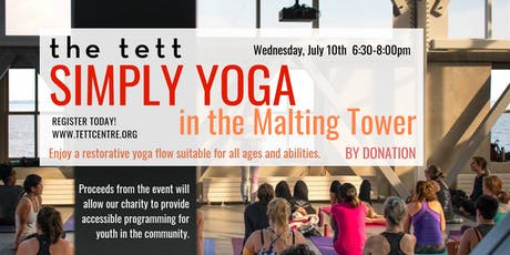 Simply Yoga in the Malting Tower tickets