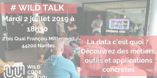 Wild Talk - La Data, c'est quoi? Découvrez métiers, outils et applications!