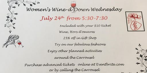 Women's Wine-d Down Wednesday
