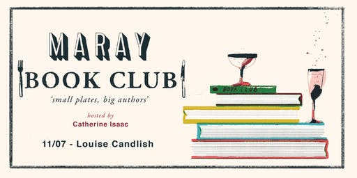 Maray Book Club presents: Louise Candlish
