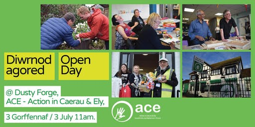Open Day' at ACE - Action in Caerau & Ely