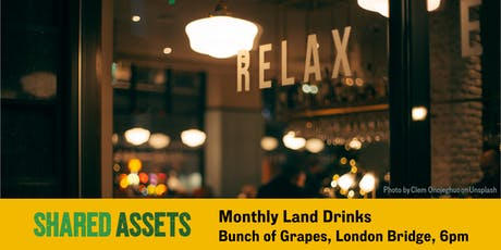 Monthly Land Drinks tickets