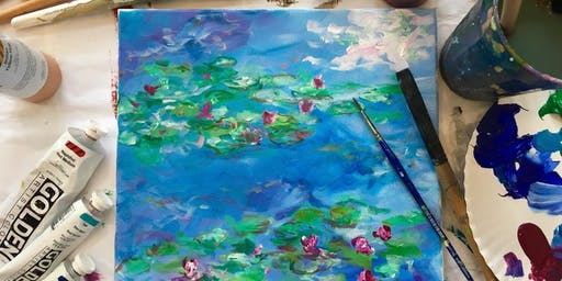 Painting Workshop: Monet's Waterlilies