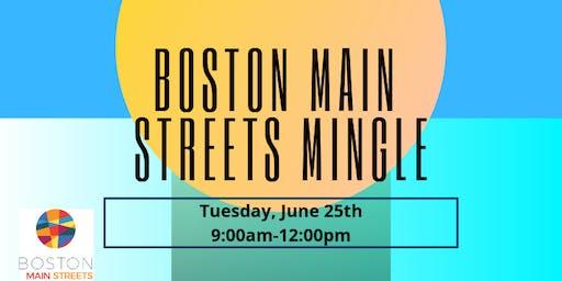 Boston Main Streets Mingle