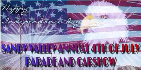 SANDY VALLEY ANNUAL 4TH OF JULY EVENT tickets