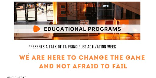 """Zalando TA Principles """"We here to change the game and not afraid to fail"""""""